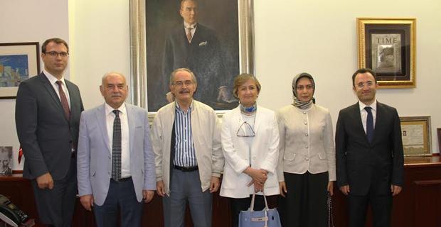 TBMM Alt Komisyonu Başkanı Satır'dan Büyükerşen'e ziyaret