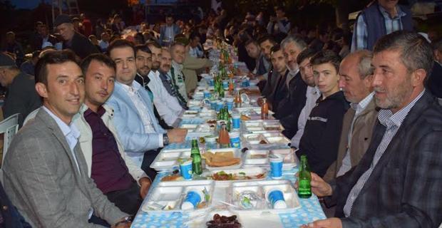 Tekeciler mahallesinde toplu iftar