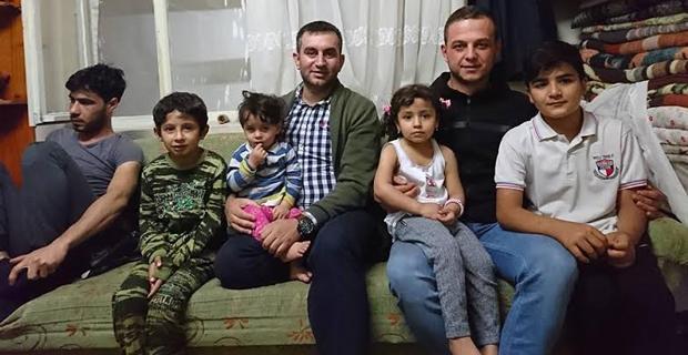 Ülkücüler ülkücü şehit ailelerini ziyaret etti