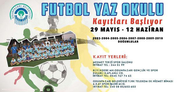 Yaz Futbol Okulları için son kayıt 12 Haziran