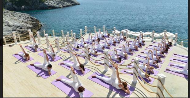 Yoga için Antalya'da buluşacaklar