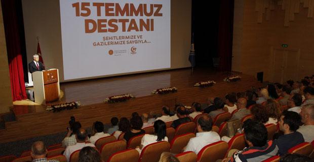 Anadolu Üniversitesi'nde 15 Temmuz'u anma programı