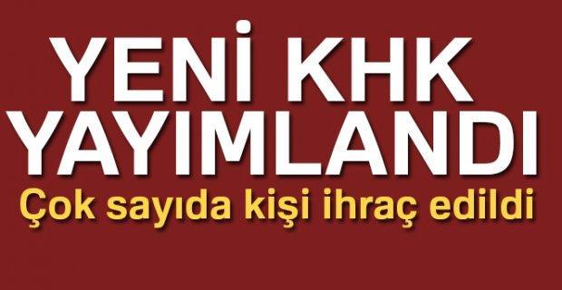 Eskişehir'de yeni ihraçlar var