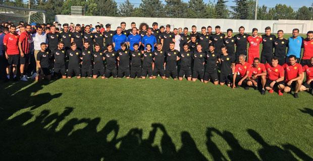 Eskişehirspor yeni sezonun startını verdi