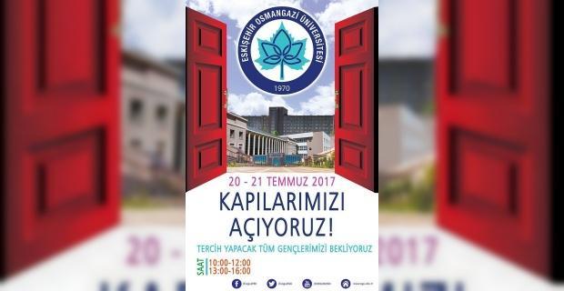 ESOGÜ üniversite adaylarını Tercih Günlerine bekliyor