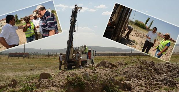 Kırka'da Maden Lisesi için çalışmalar başladı