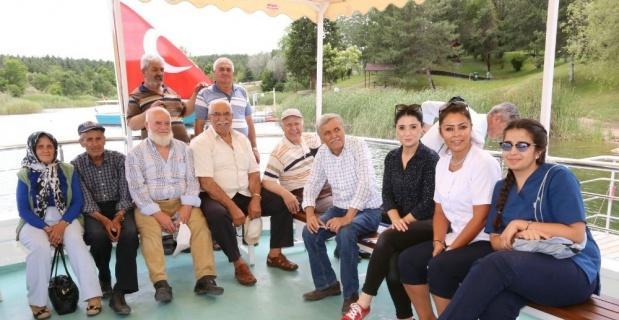 Koca Çınar Yaşam Merkezi tekne turunda