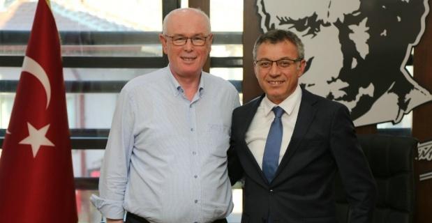 Yeni atanan Türk Telekom İl Müdüründen Başkan Kurt'a ziyaret