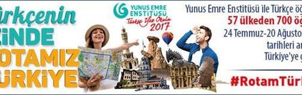 Yunus Emre Enstitüsü Türkçe Yaz Okulu başlıyor