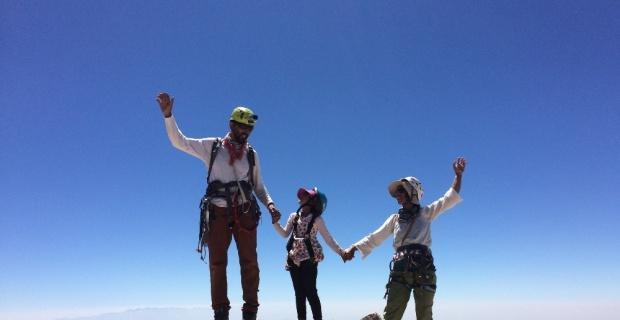 6 yaşında 3 bin 756 metreye tırmandı