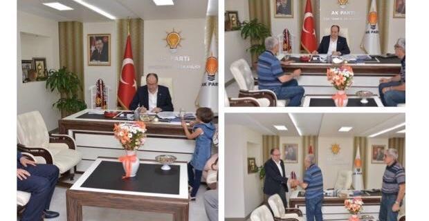 Başkan Ünlü hemşehrileriyle buluştu