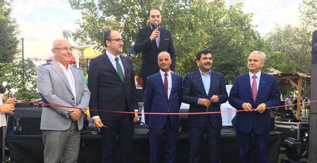 Ciğerci Ahmet Bahçe'ye görkemli açılış