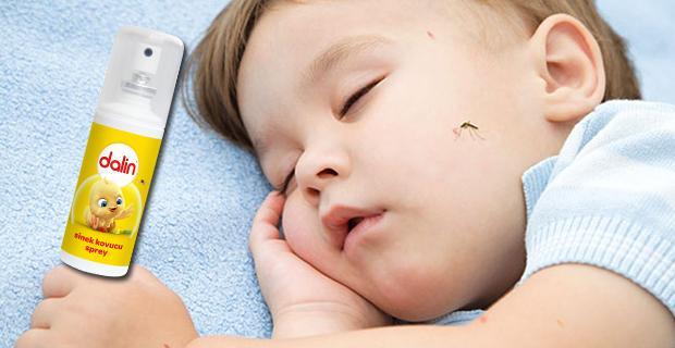 Dalin sinek kovucu sprey ile güvenli koruma elinizin altında