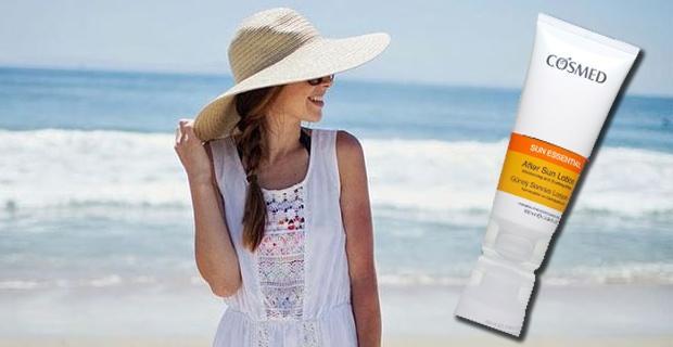 Güneşten yıpranan cildinizi COSMED ile canlandırın