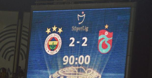 Kadıköy'de gol düellosunda kazanan yok