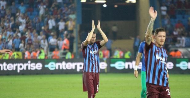 Trabzonspor ligin ilk haftalarına iyi başlıyor
