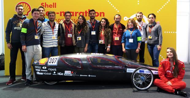 Anadolu Üniversitesi Shell Eco-Marathon Türkiye için hazır