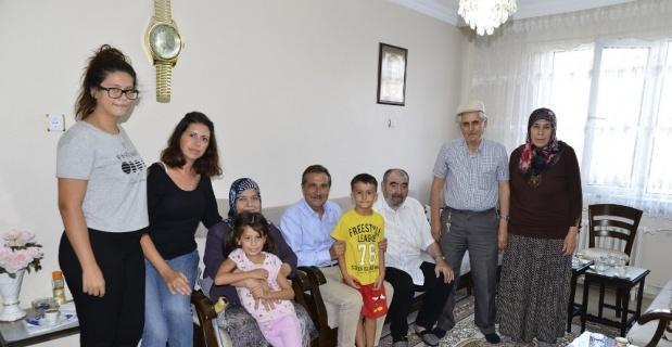 Başkan Ataç hasta ziyaretlerinde bulundu