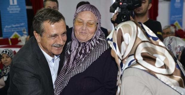 Başkan Ataç şehit aileleri ve gazilerle bir araya geldi