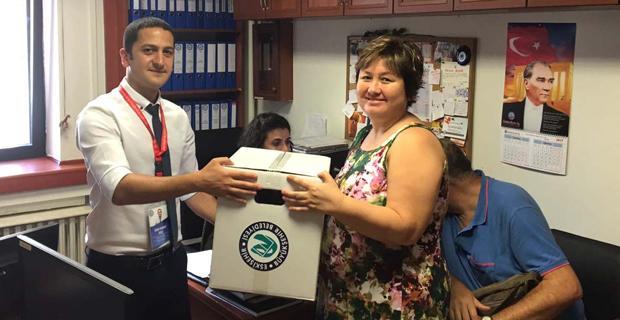 Çölyak ve PKU hastalarına Büyükşehir'den gıda paketi