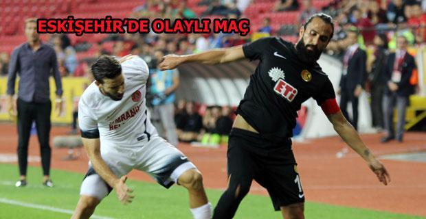 Eskişehirspor 3 puanı kaçırdı