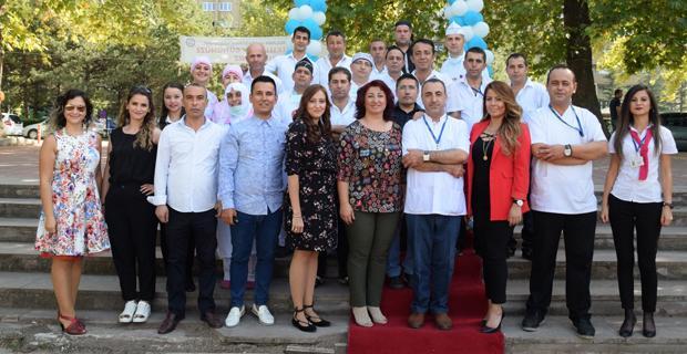 ESOGÜ Sağlık, Uygulama ve Araştırma Hastanesi'nde 5'inci geleneksel pilav günü