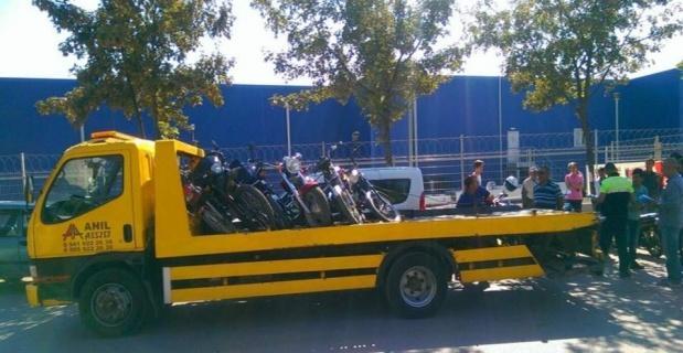 Polisten çalıntı eşya ve motosikletlere yönelik uygulama