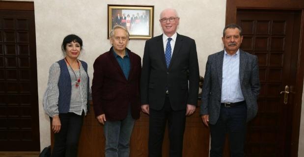 Ekşioğlu ve Kula'dan Başkan Kurt'a ziyaret