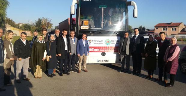 Eskişehir'den Bursa Tarım Fuarı'na 5 otobüs