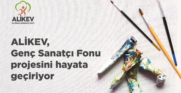 ALİKEV'den genç sanatçılara destek