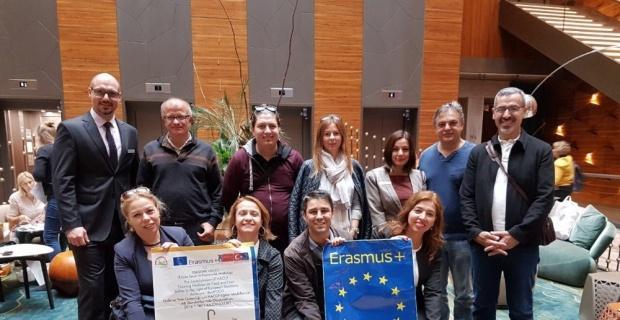 ERASMUS Stratejik Bilgi Ortaklığı projesi Üçüncü Uluslararası Toplantısı Berlin'de gerçekleştirildi