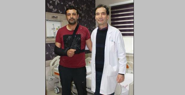 Çanakkale'den gelen hasta şifayı Eskişehir'de buldu