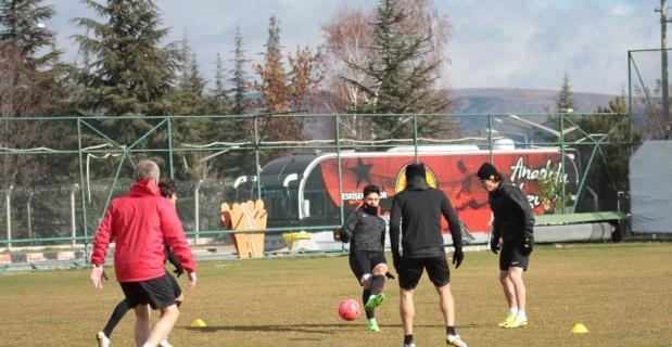Eskişehirspor, Gaziantepspor maçına hazırlanıyor