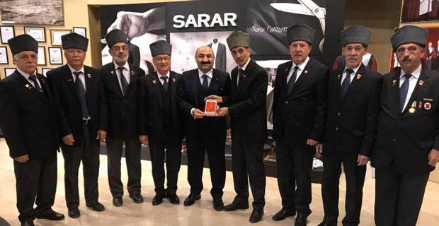Gaziler Sarar'ı ziyaret etti