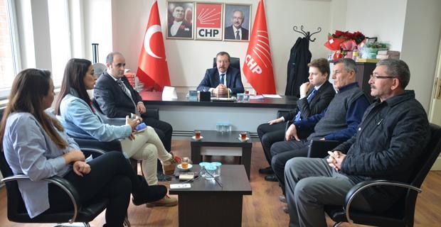 LDP yöneticilerinden Özkar'a ziyaret