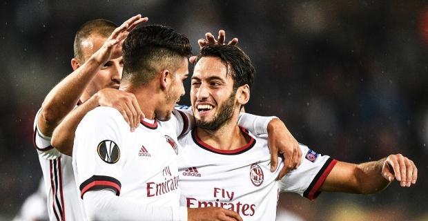 Milan'ı Hakan kurtardı