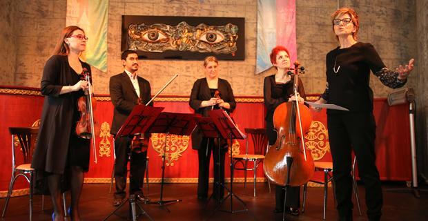 Şato'da klasik müzik ziyafeti