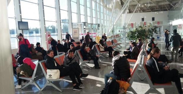 Sivas Belediyespor arıza nedeni ile uçamadı
