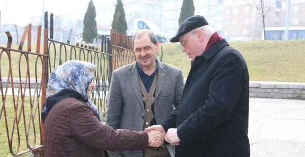 Başkan Kurt Yenidoğan Mahallesi'nin sorunlarını dinledi