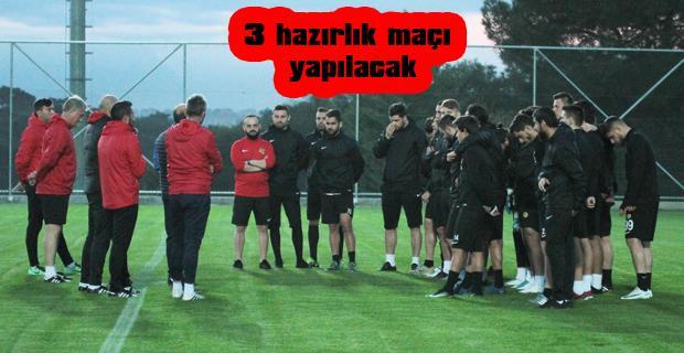 Eskişehirspor'da Antalya kampı başladı