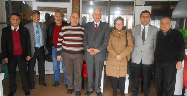 İYİ Parti ÇGD'yi ziyaret etti