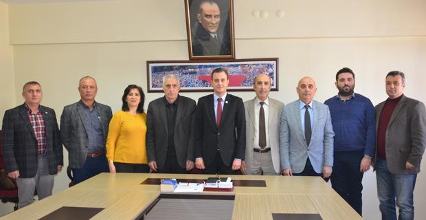 Sallarel'den Türk-İş'e ziyaret