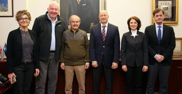 TEGV'DEN  Büyükerşen'e teşekkür ziyareti