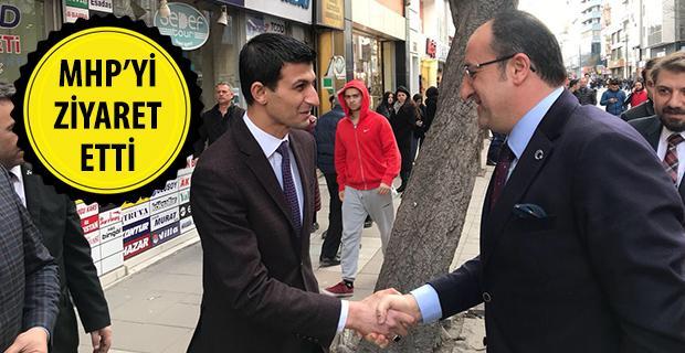 Dündar Ünlü'den MHP'ye ziyaret