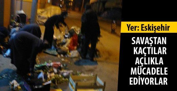 Eskişehir'de hüzünlendiren tablo