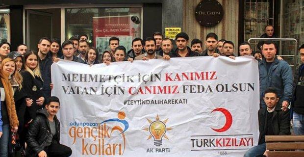 Mehmetçik için kanımız, vatan için canımız feda!