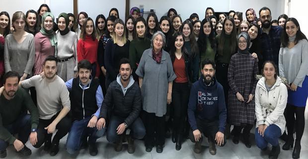 PDR öğrencilerinden Kadın Danışma Merkezi'ne ziyaret