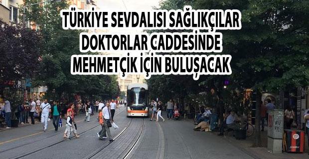 Sağlıkçılar Mehmetçik için Eskişehir'de bir araya gelecek