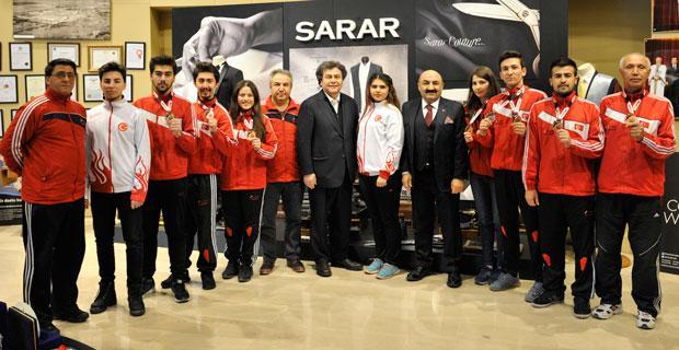 Sarar sporcuları Eskişehir'e 14 madalya ile döndü