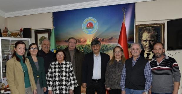 Tepebaşı Meclis üyelerinden Ziraat Odasına ziyaret